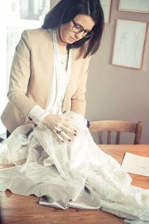 Brautmode maßgeschneidert Mainz Atelier VON EIDEN