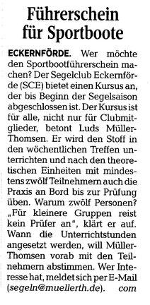 Kieler Nachrichten Di., 16. Januar 2018