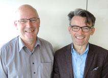 Yves Coativy et Dominique Derrien / cliché © François Olier
