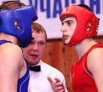 Аршак Гаспарян (справа)