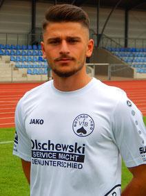 Murat Berbero versuchte sich als Linksverteidiger.