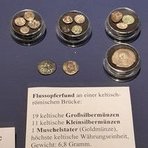 keltische Münzen im Archäo Norico