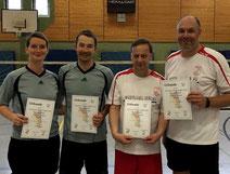 von links: Silke Weustermann, Christian Weustermann, Uwe Walter, Karsten Thilo Raab