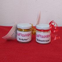 """Duftzucker """"Blütentraum"""" & """"Kräuter"""""""