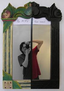 Autoportrait de l'artiste Fredo Vagel
