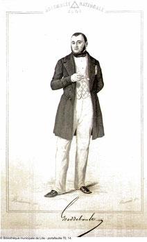 Géry Eugène Heddebault (1803-1875), député (source BM Lille)