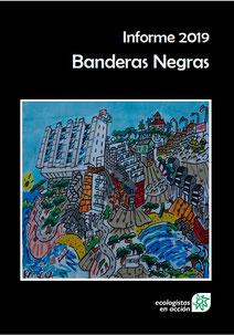 Portada del Informe Banderas Negras 2019