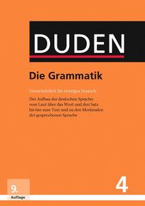 cover, duden, grammatik, band 4