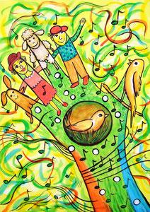 Zauberhafte Handgeschichten - Der Melodienwald