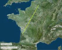 Peu de massifs forestiers en France à l'ouest