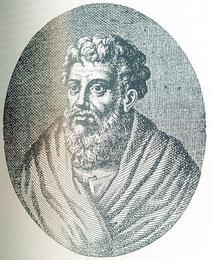 Alcmeone: filosofo e medico greco.