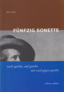 Fünfzig Sonette Karl Riha