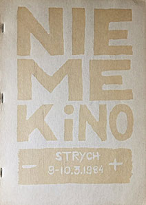 Nieme Kino, Guy Schraenen Catalogue Poland