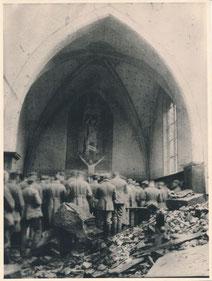 """Dieses Fotodokument aus dem Wehrgeschichtlichen Museum in Rastatt gehört zu den Exponaten der Ausstellung """"Verbündete im Himmel"""", die vom 5. Mai bis zum 14. Juni 2015 im Römermuseum Osterburken zu sehen ist"""