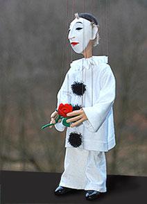 Pirot-Marionette 50 cm groß