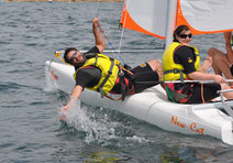 stage de voile catamaran
