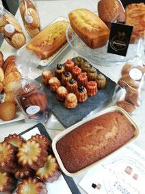 madeleine sans gluten - quatre-quart sans gluten - pain d'épices sans gluten - a emporter - bordeaux - paris -France
