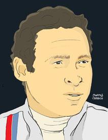 Danny Ongais en F1 by Muneta & Cerracín