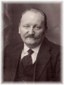 CLEDA Désiré J., photographié vers 1920-1924. Collection privée de l'auteur.