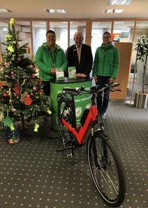 Das Dreirad-Zentrum Lübeck ist Kooperationspartner der Sparkasse zu Lübeck