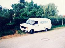 erstes Auto zur Firmengründung 1985