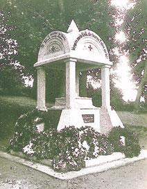 Denkmal amTotensonntag vor 1939