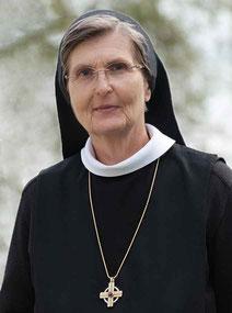 M. Johanna Mayer OSB, Äbtissin der Abtei Frauenwörth
