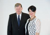 Peter Rapp mit seiner Tochter Marianne Rapp Ohmann