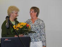 Landestierärztin Frau Dr. Dajen und Astrid Schönherr