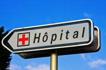 hopital, chru , clinique , hospitalisation, consultations, transport de malade, 100%, et tiers payant