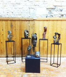 exposition peinture sculpture, Honfleur, Chris Jobert, les Honfleurais peignent leur ville, Grenier à Sel Honfleur