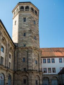 Bild: Der Schlossturm in Bayreuth