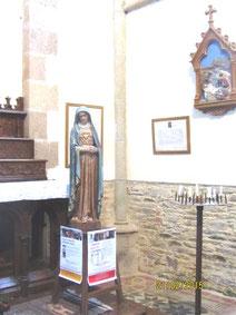 L'Eglise ND de Garlan et son espace de prière tout spécialement dédié aux chrétiens d'Orient