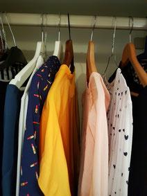 Kleiderschrank, Kleider