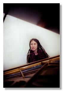 Pianistin Kristina Stary
