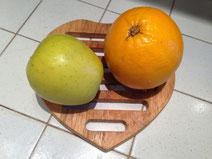 Mele deliziose all'arancia ricetta
