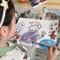 松本市こども絵画造形教室あーとりえ