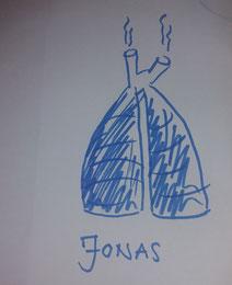 Jonas gemalt von Daniel