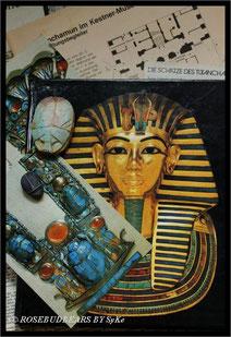 meine Souvenirs der Tutanchamun-Ausstellung