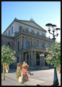 Flanieren vor der Oper