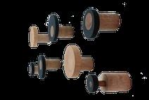 Garderobe Wandhaken aus Holz Garderobenhaken