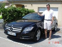 Damien, nouvelle Mercedes class CLS en 2014
