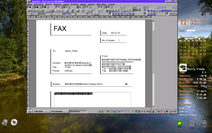 PC/GEOS Office Assistant template Short fax