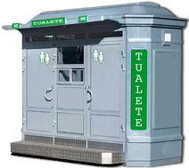 Модульный туалет PT-MOD