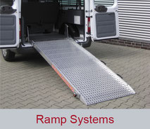 Ramp systems for vehicles