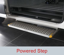 Powered Step for side entry