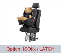 ISOfix / LATCH option for Smartseats