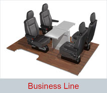 Business Line seating solution for minivans