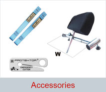 Accessories for transport of people with disabilities