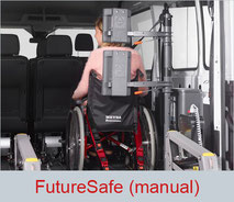 FutureSafe is a manual head and backrest for wheelchair users